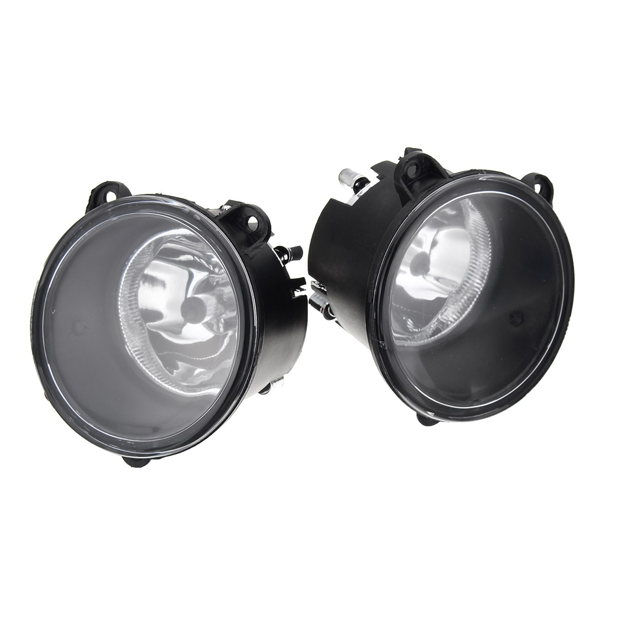 Pair Clear Car Front Fog Lights H11 Bulbs Lamp For Land Rover Discovery 3 X2 2003-2009 for opel astra h gtc 2005 15 h11 wiring harness sockets wire connector switch 2 fog lights drl front bumper 5d lens led lamp