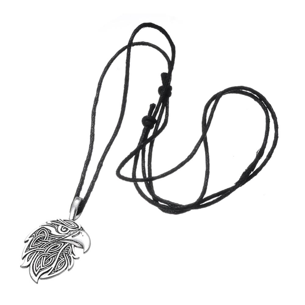 Dawapara Viking necklace Fox Triquetra Fenrir Animal Teen Wolf Necklace men Fashion Jewelry pendant Supernatural Amulet Knot 28