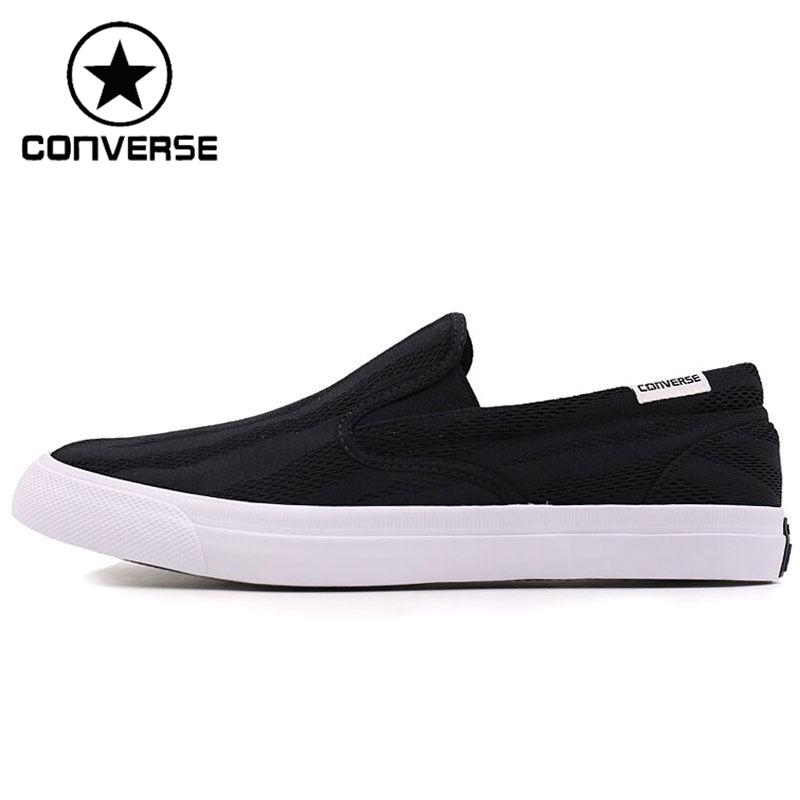 ФОТО Original New Arrival 2017 Converse Core Slip Men's Skateboarding Shoes Canvas  Sneakers