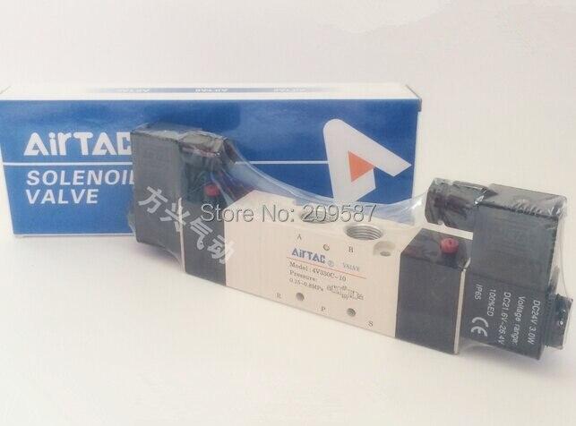 Heimwerker Sanitär 4v330c-10 5way 3 Position Dual Magnet Pneumatische Luftventil 3/8 bspt Dc12v Dc24v Ac110v Ac220v In Den Spezifikationen VervollstäNdigen