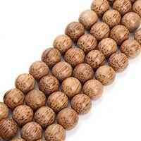 XINYAO 11 14mm Natürliche Holz Perlen Halskette Armband Erkenntnisse runde Lose Raum Perlen Für Diy Schmuck Machen Perle Bois F3674
