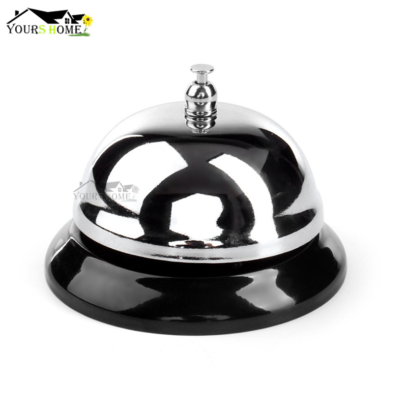 3.5inch Desk Kitchen Hotel Counter Reception Bar Ringer Call Bell Service