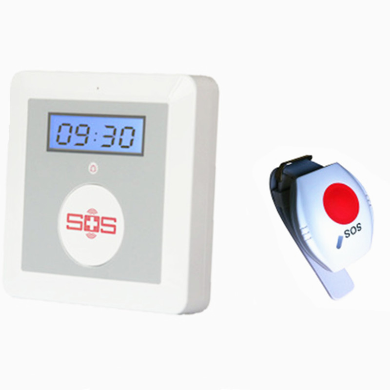 Elder Care GSM Alarm System With Emergency SOS Button yobangsecurity emergency call system gsm sos button for elderly