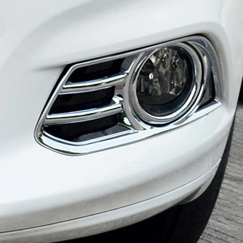 Fit For Ford Fusion Contour 2013 2014 ABS Chrome Front Fog Lamp Cover Lights Frame