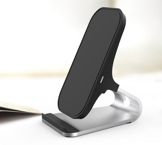 Lantro JS Drahtlose Ladegerät Qi Schnelle Handy ladegerät Schreibtisch Stehen mit Einem Meter Typ C zu USB Kabel Ohne AC adapter
