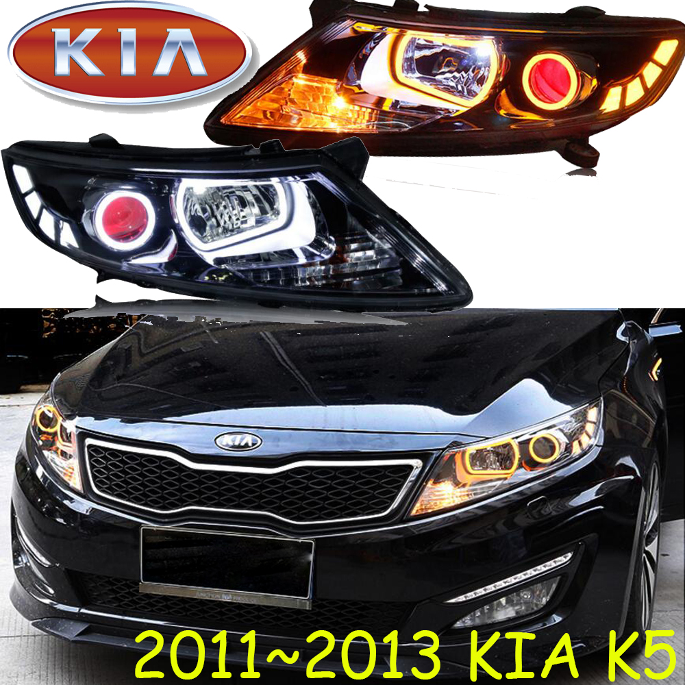 KlA K5 headlight,2011~2013,Free ship!KlA K5 daytime light,Sportage,soul,spectora,k5,sorento,kx5,ceed,K5 head light free shipping k5 metal shell