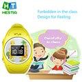 Hot Brand Reloj Inteligente Niños Kid Reloj de Pulsera GPS Tracker Inteligente Acecha Anti-perdida Smartwatch Q520S Usable para iOS Android