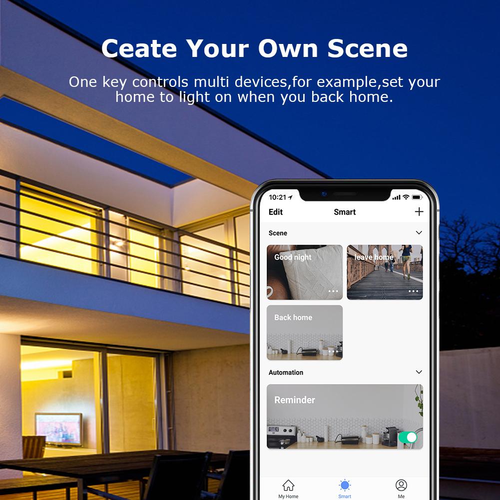 HTB1dInYazLuK1Rjy0Fhq6xpdFXaq - EU US UK Voice Remote Control Home Plug Remote Work with Google Home Alexa IFTTT Smart Plug Wifi Smart Socket Power Monitor