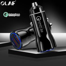 Proelio Car Charger Quick Charger 3.0 3.1 A Mobile Phone Car