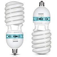 Neewer 85W 220V 5500K Tri phosphor Spiral CFL Daylight Balanced Light Bulb in E27 Socket for Photo and Video Studio Lighting