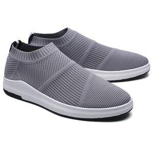 Image 5 - حذاء رجالي من Krasovki يسمح بمرور الهواء يسمح بمرور الهواء أحذية للرجال أحذية كاجوال من نسيج شبكي للكبار أحذية رياضية للرجال