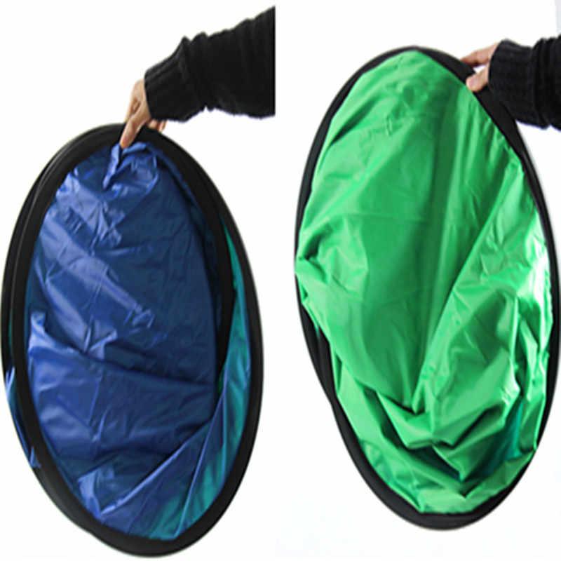 Hanmi 60*90 см 2 в 1 складной отражатель синий зеленый экран Chromakey фотография свет Reflecteur фото студия свет отражатель