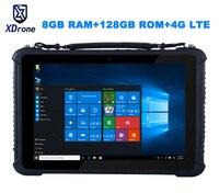 Original K16T Rugged Windows Diagnostic Tablet PC Waterproof Industrial Computer M3 7Y30 8GB RAM 128GB ROM 10.1 High precision