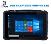 Original K16T Rugged Windows Diagnostic Tablet PC Waterproof Industrial Computer M3 6Y30 8GB RAM 128GB ROM 10.1 High precision