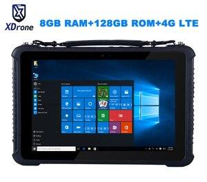 Oryginalny K16T wytrzymały Windows diagnostyczny Tablet PC wodoodporny komputer przemysłowy M3-6Y30 8GB RAM 128GB ROM 10.1