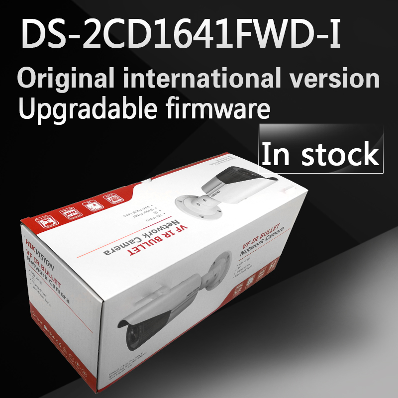 DHL free shipping DS-2CD1641FWD-I replace DS-2CD2645F-IS  varifocal zoom IP POE camera outdoor camera in stock free shipping ds 2cd1631fwd i replace ds 2cd2632f is ds 2cd2635f is zj varifocal zoom ip poe camera outdoor camera