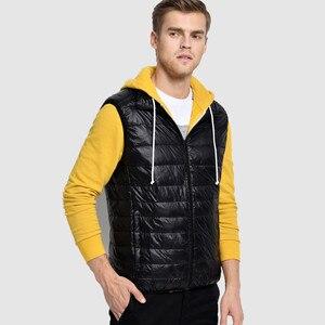 Image 4 - Brand 90% Duck Down Vest Ultra Light Duck Down Waistcoat  Sleeveless Jacket autumn Winter Coat J0029