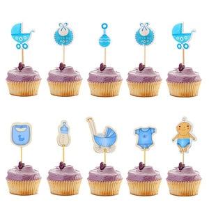 Image 5 - 10pcs זהב כתר Cupcake Toppers חתונת שולחן קישוט ילדים יום הולדת רווקות מסיבת אספקת מקלחת תינוק