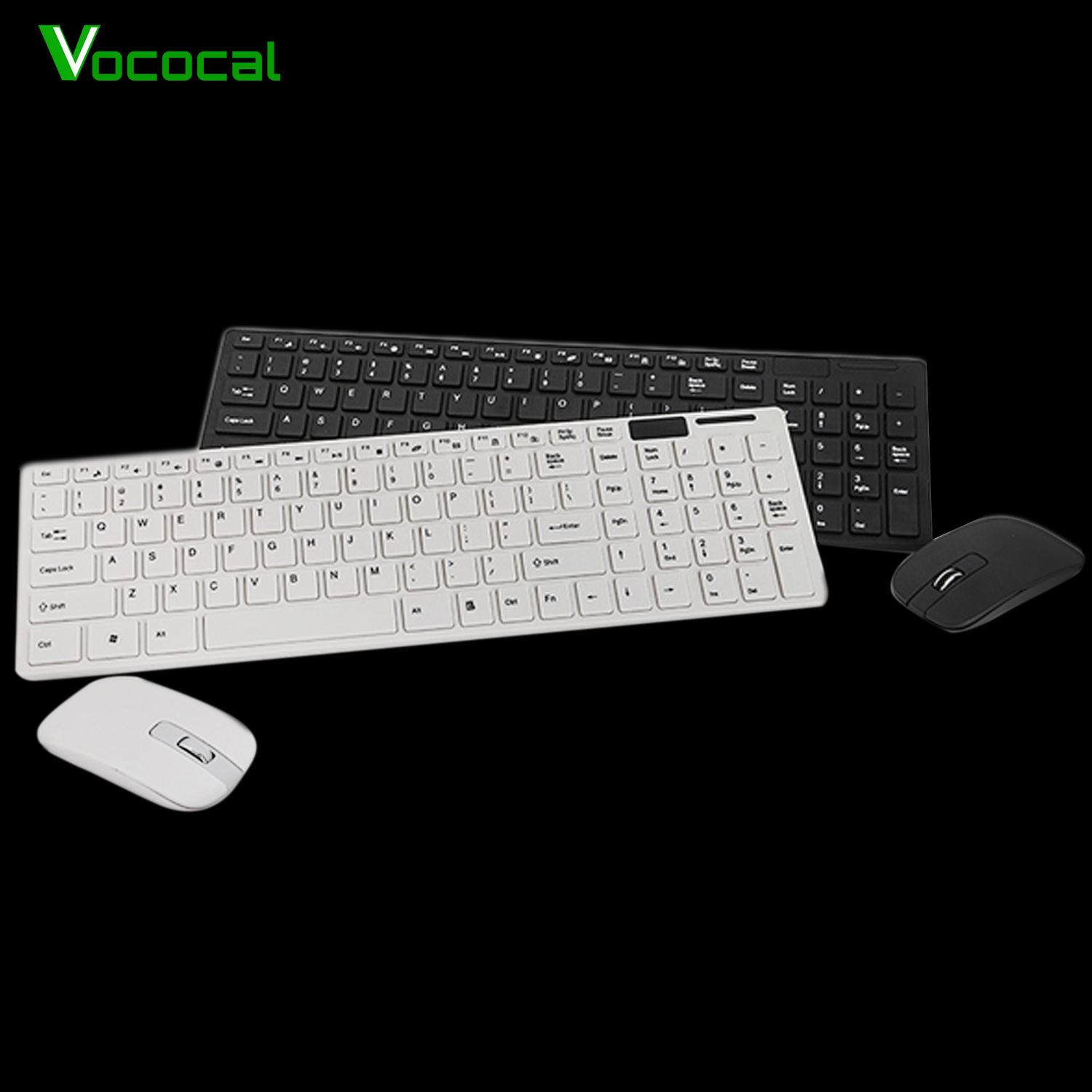 vonets wireless keyboard and mouse combo set 10m operating distance mice for computer pc gaming. Black Bedroom Furniture Sets. Home Design Ideas