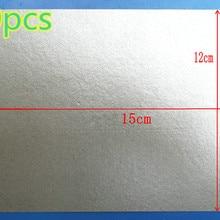 10 шт. слюда высокого качества 12x15 слюдяной лист микроволновая печь тарелки для микроволновой печи листовая слюда General midea Galanz LG и т. д