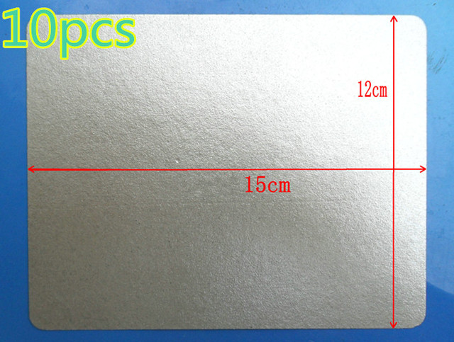 10pcs High Quality Mica 12x15 Plate Microwave Oven Plates For Sheets General Midea