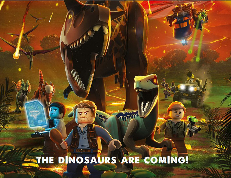 2018 New Compatible legoes Jurassic World Model Dinosaur Park T-Rex  JurassicWorld Educational Brick Building Blocks Toys Gifts