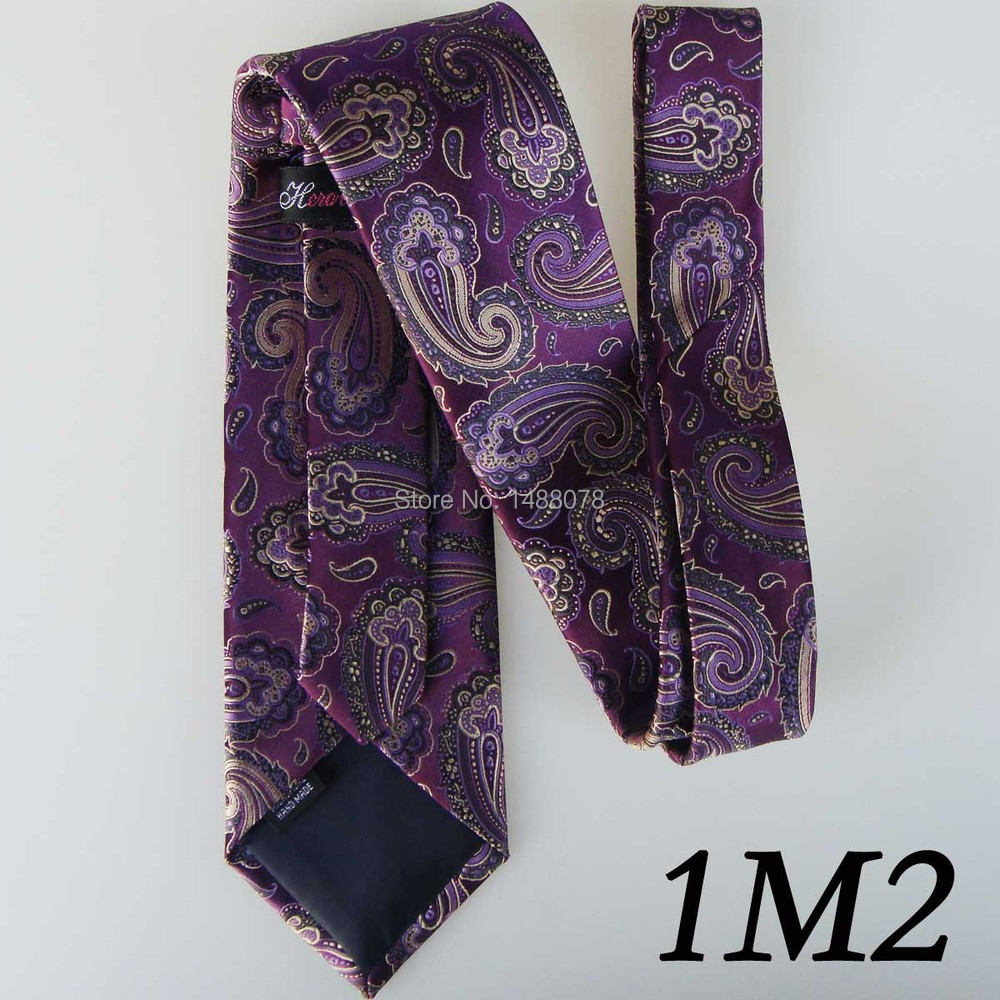 Purple Paisley Ties 1M2++