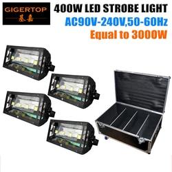 Heavy-Duty Flight Road Tour Travel Rolling Equipment Storage Packing 400W Led Strobe Light DMX 512 Control Strobe 1/3/6 Mode