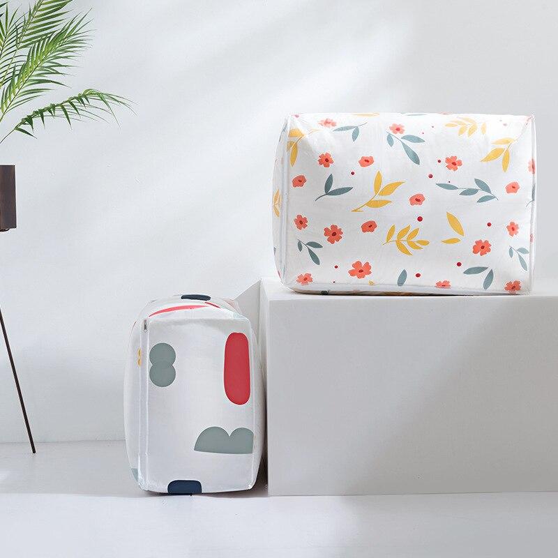 Schlafzimmer Multifunktions Quilt Doggy Bag Wasserdichte Feuchtigkeitsbeständig Große Kapazität Sachen Tasche Bewegen Haus Kleidung Baumwolle Quilt Verpackung Tasche