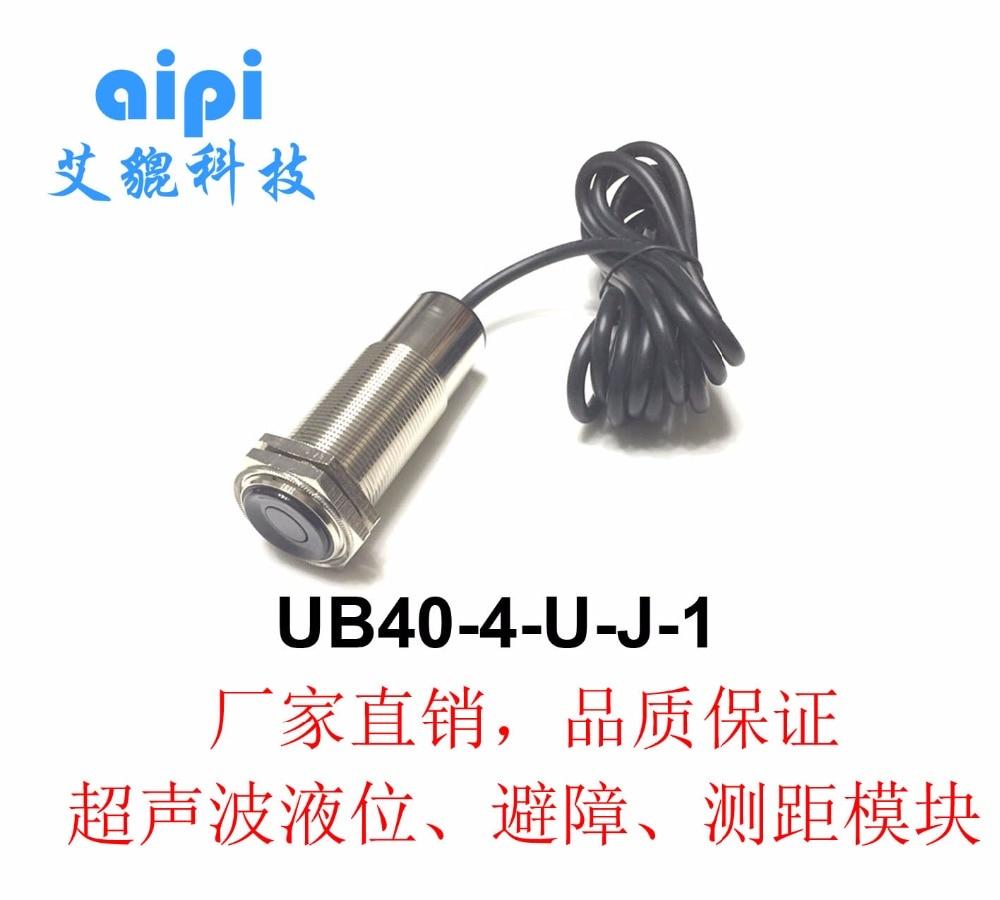 Ultrasonic ranging probe UB40 4 U J 1 ultrasonic ranging sensor displacement sensor in Electronics Stocks from Electronic Components Supplies