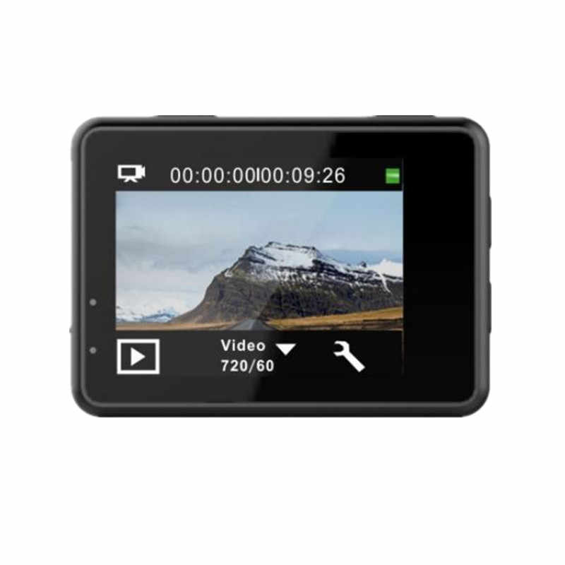 "4K عمل كاميرا واي فاي 2.0 ""شاشة كاملة HD خوذة صغيرة مقاوم للماء الرياضة كاميرا الفيديو الرقمية التحكم عن بعد"