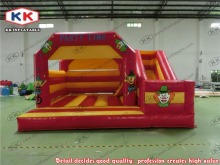 Most Popular and Super Attractive Inflatable bouncy castle with slide inflatable bouner colorful inflatable combo