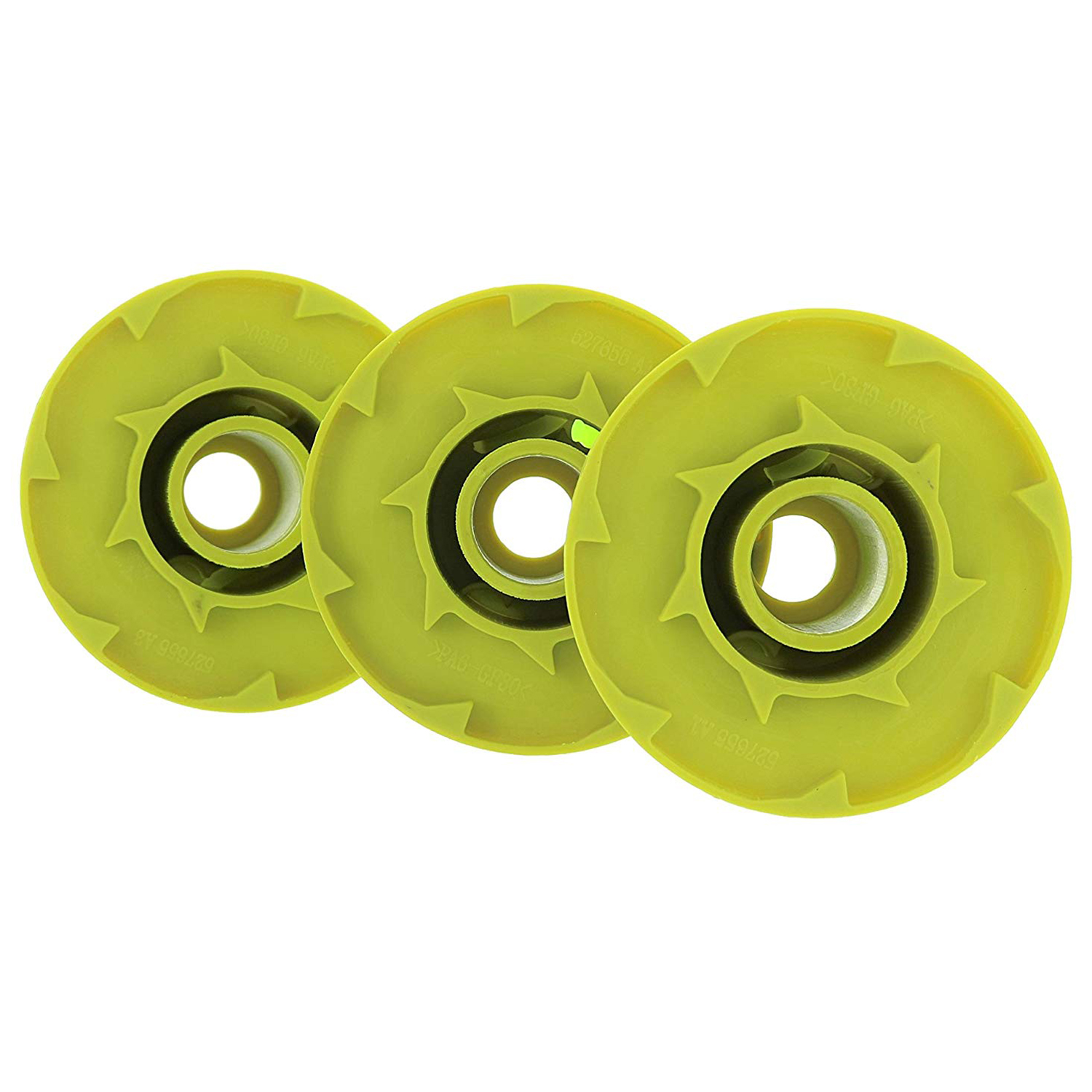 For Ryobi One PLUS AC80RL3 OEM  080 Inch Twisted Line and Spool Replacement  for 18v, 24v, and 40v Cordless Trimmers (3 Pack)