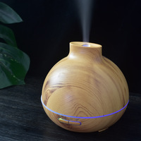 ALDX5 Yx 0170 Manufacturers Wood Grain With Flat Mouth Aromatherapy Humidifier USB Humidifier