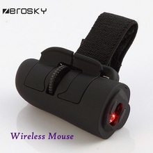 Zerosky 2.4GHz USB Interface Wireless Mouse Mini Finger Rings Optical Mouse 1600Dpi For PC Desktop Computer Accessories Mice(China (Mainland))