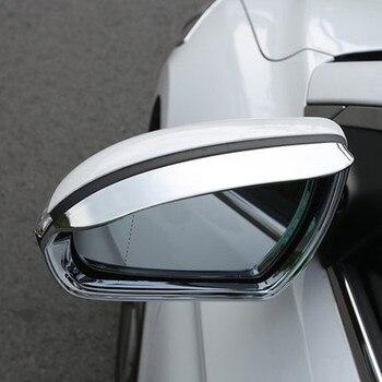 2017 2018 hyundai Solaris 2 車のバックミラーフレームカバー雨眉毛カバーステッカー装飾自動車の付属品