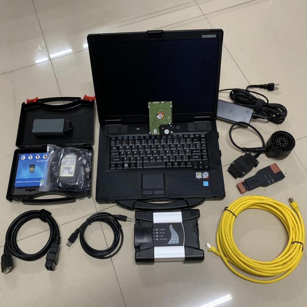 2019 PER bmw ista ista software PER BMW ICOM SUCCESSIVO vas5054a CON HDD 1 tb CON tablet CF52 DEL COMPUTER PORTATILE 4G set completo di diagnostica per bmw