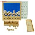 Сто доска Монтессори детские развивающие игрушки мозговые тизеры домашние математические игрушки количество практики деревянные материа...
