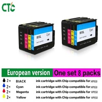 8PK 950XL For HP 950 XL 951XL HP950XL HP950 Ink Cartridge Compatible For HP Officejet Pro
