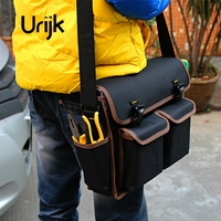 Urijk Oxford Tool Bag Decoration Electric Repairing Hand Tools Satchel Multifunction Screwdriver Pliers Scissors Knife Wearable