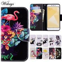 Wekays для xiaomi redmi 4x 4 x чехол с милым мультяшным Фламинго
