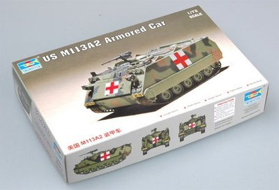 Trumpeter 07239 1/72 US M113 A2 Plastic Model Kit