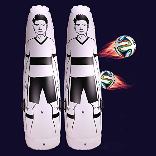 1.75 m Adulte Enfants Gonflable Football Formation Gardien de But Tumbler Air Football Train Factice peine équipement top qualité