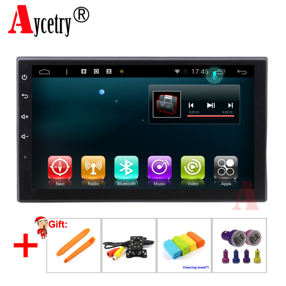 Aycetry 7 2 Din car multimedia Player android 7 1 dvd GPS Navigation For VW NISSAN