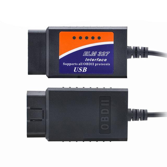 OBD2 ELM327 V1.5 V2.1 USB Bluetooth OBD Scanner Automotive for PC EML 327 V1.5 ODB2 Interface Diagnostic Tool ELM 327 USB V 1.5