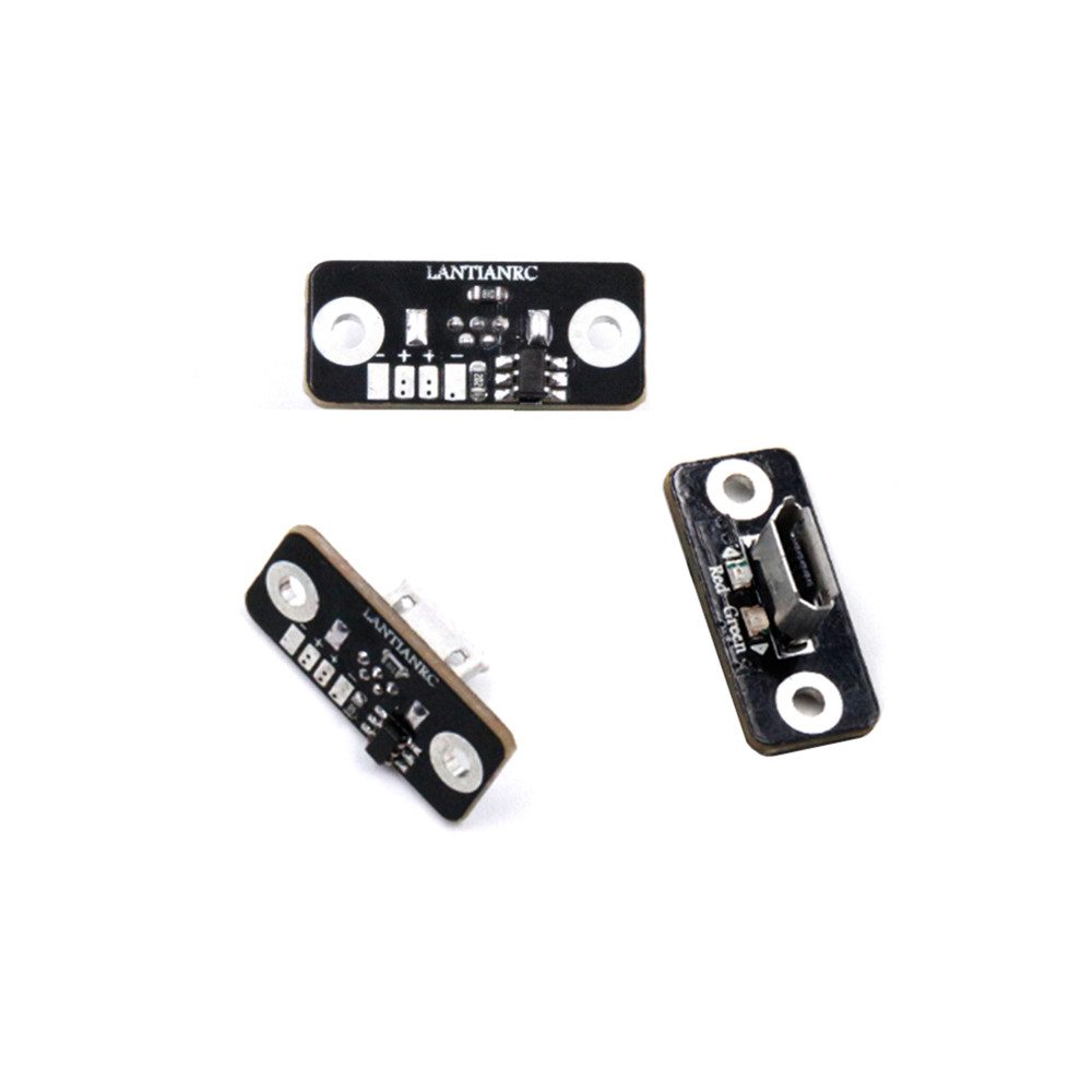 2PCS Lantian <font><b>1S</b></font> 3.7V 4.2V 0.4A Android Micro USB <font><b>Lipo</b></font> Battery <font><b>Charger</b></font> <font><b>Board</b></font> Module for RC FPV RC Drone Quadcopter Airplane image