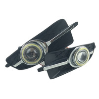 For Buick Allure Lacrosse Alpheon White Angel Eyes DRL Yellow Signal Light H11 Halogen Xenon E13