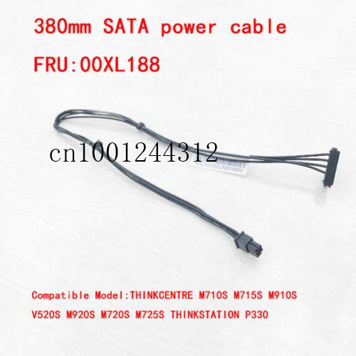 New Original for Lenovo Thinkcentre Mini 4 Pin to One 380mm SATA Power Cable 00XL188