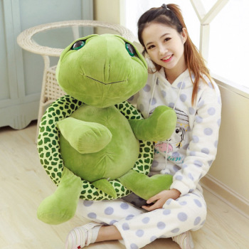 цена на Super Cute Turtle Tortoise Doll with Big Eyes Stitch Plush Toys Girls Kids Turtle Toy Gift For Children's Birthday