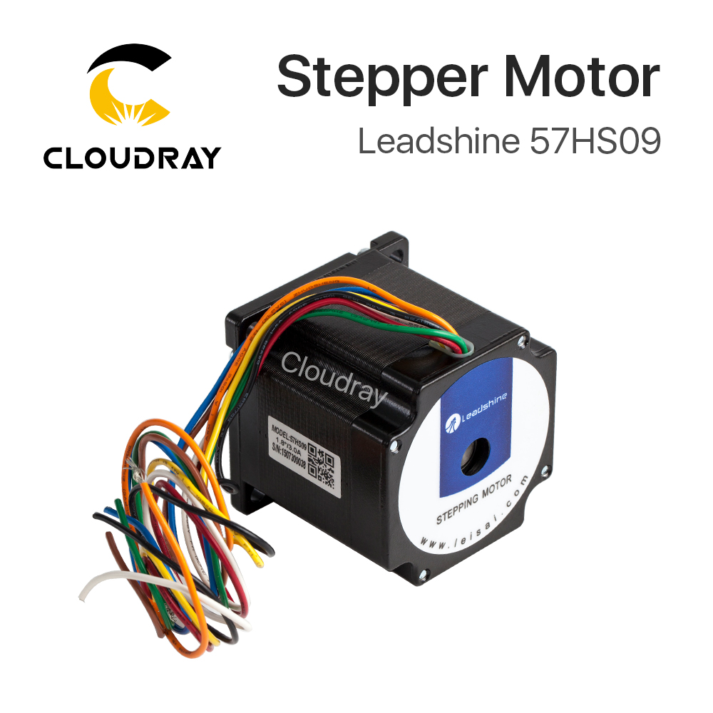 Leadshine 2 phase Stepper Motor 57HS09 for NEMA23 4.2A Length 54mm Shaft 6.35mm